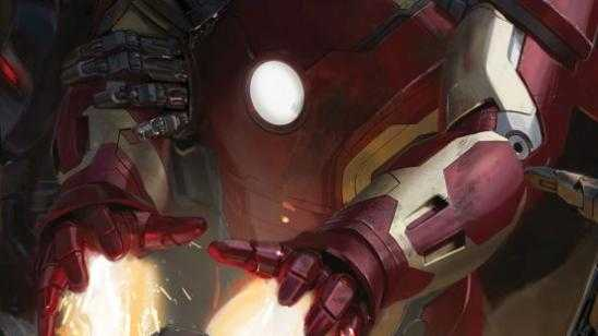 Avengers: Age of Ultron Comic-Con Posters - Iron Man and Scarlet Witch