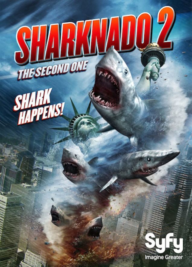 Syfys Sharknado 2: The Second One - Record-Breaking 3.9 Million Viewers