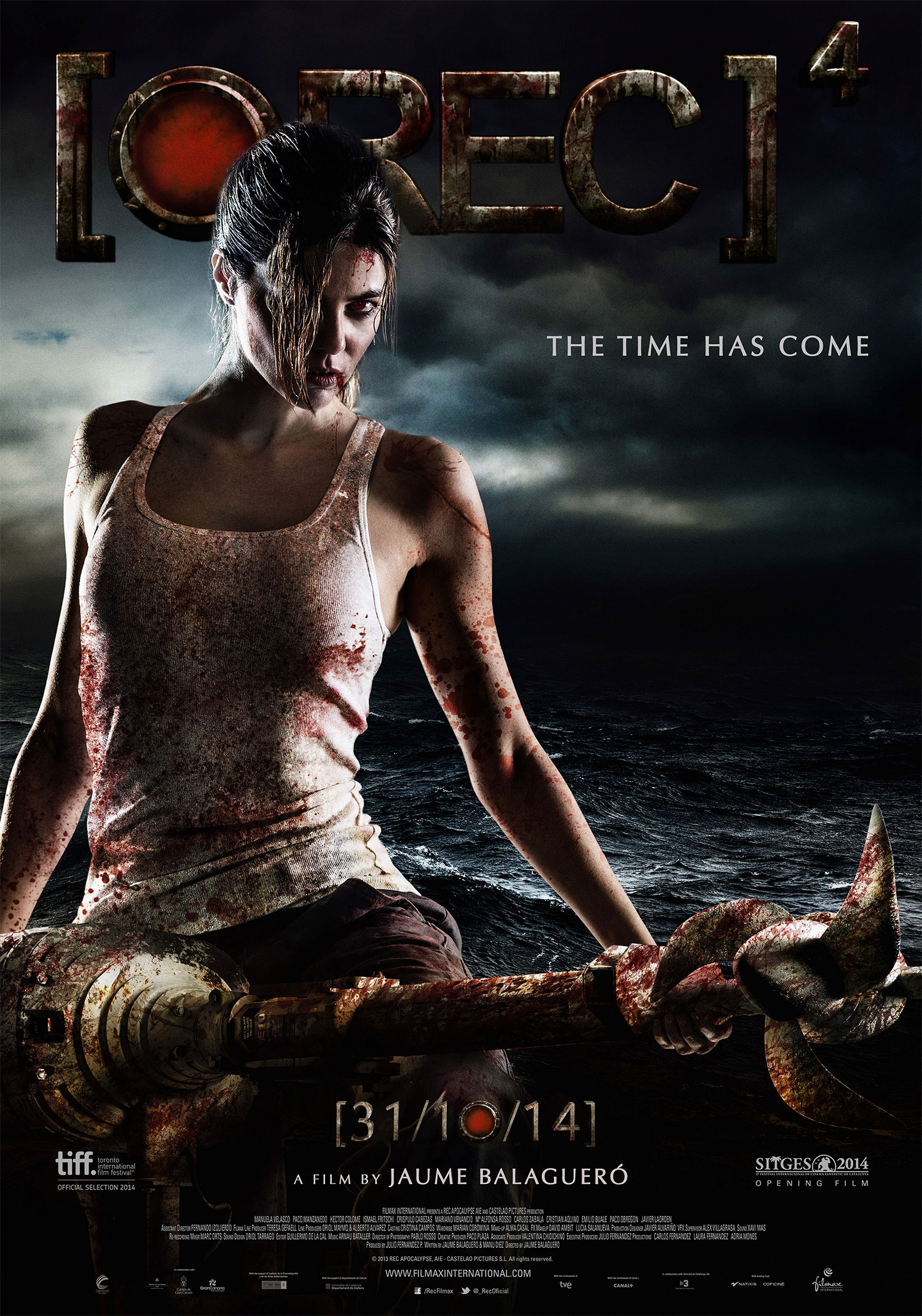 Rec 4 Apocalypse Movie Poster Reveal Hell Horror