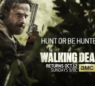 AMC's The Walking Dead Season 5 - New Poster 'Hunt or be Hunted'