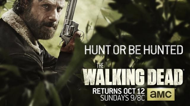 AMCs The Walking Dead Season 5 - New Poster Hunt or be Hunted
