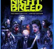 Clive Barker's Night Breed Directors Cut Blu-ray / DVD Cover Art and Special Features