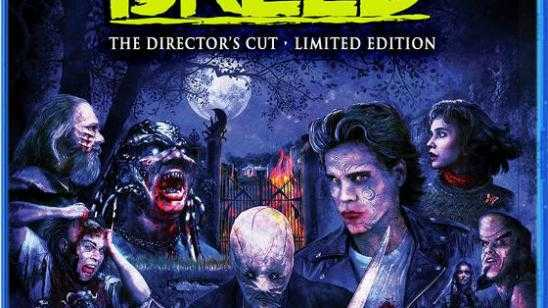 Clive Barkers Night Breed Directors Cut Blu-ray / DVD Cover Art and Special Features