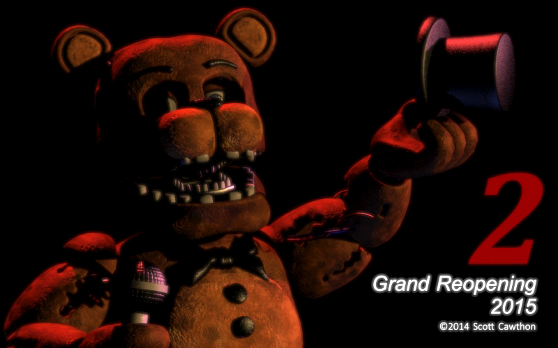 Five nights at freddy s sequel coming in 2015 hell horror