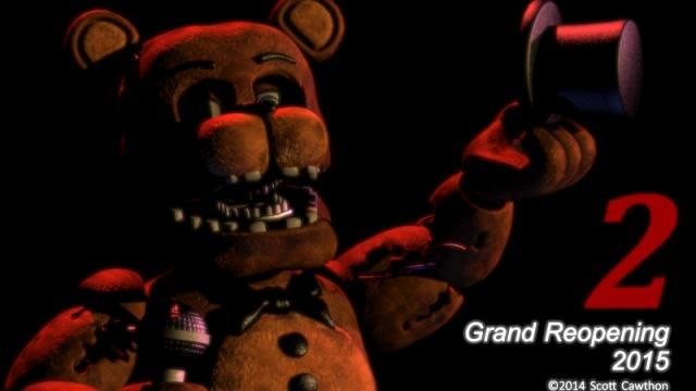 Five Nights at Freddys Sequel Coming in 2015