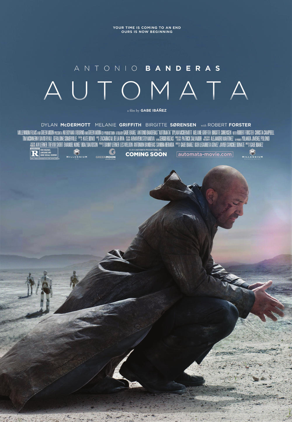 Antonio Banderas New Movie Automata 2014 Release Details