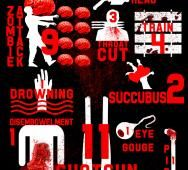 V/H/S and V/H/S 2 Infographic Deaths / V/H/S: Viral Release Details