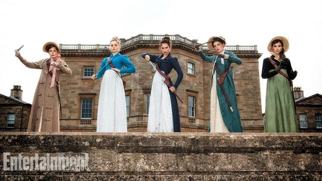 Pride and Prejudice and Zombies First Movie Still Arises
