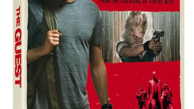 Adam Wingards The Guest Blu-ray / DVD Release Details and Cover Art