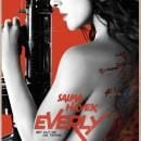 Sexy Salma Hayek's 'Everly (2014)' Poster