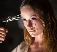 Scary Looking Olivia Wilde in Blumhouse Production's 'The Lazarus Effect' Movie