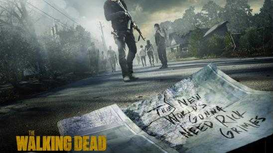 New Artwork for AMCs The Walking Dead Season 5 Return