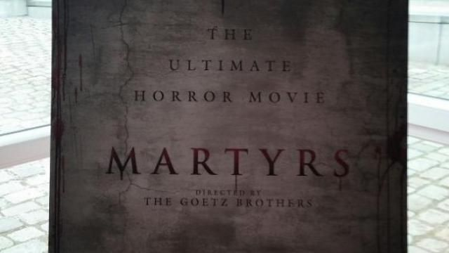 Sales Artwork and First News for Martyrs Remake