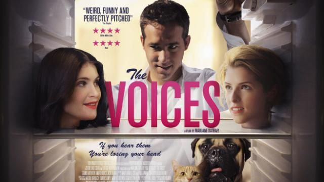 New UK Poster for Ryan Reynolds The Voices