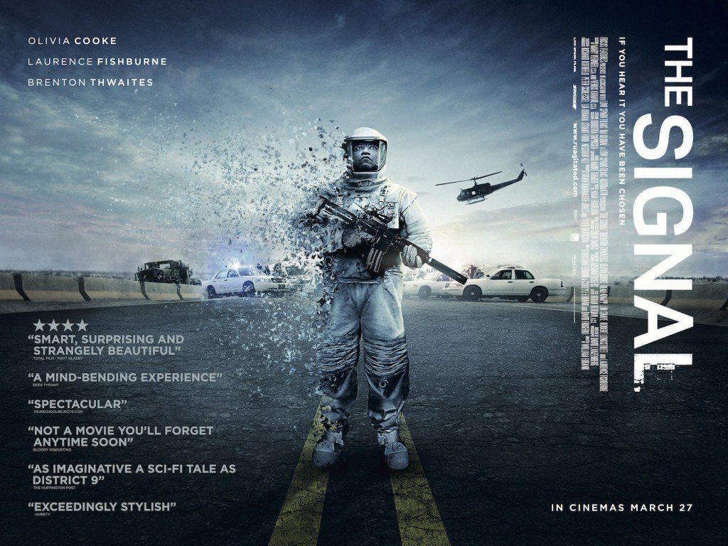 The Signal's UK Quad Poster Has Landed - Hell Horror