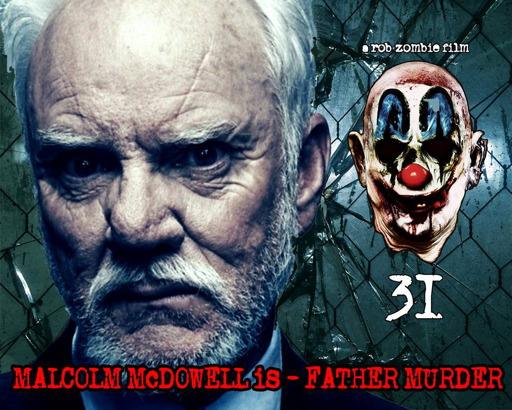 malcolm mcdowell joins rob zombie's 31 horror movie cast