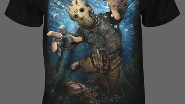 Fright Rags Forest Green Killer Featuring Jason Voorhees