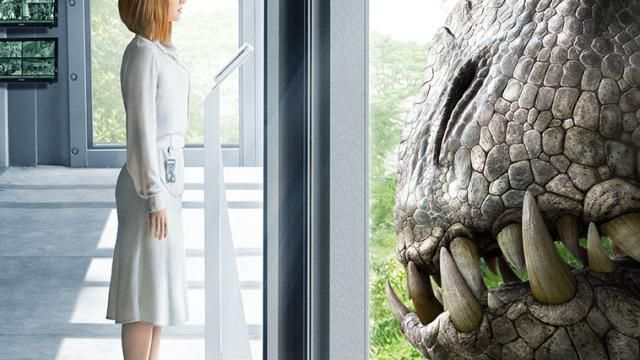 New Poster for Jurassic World Tempts Faith Beautifully