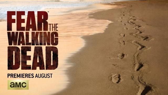 AMC FEAR THE WALKING DEAD Comic Con 2015 Key Art Reveal