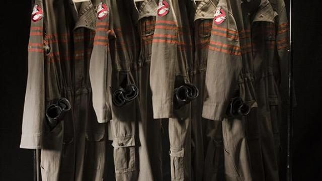 GHOSTBUSTERS Uniform Revealed