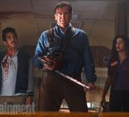 First Bruce Campbell as ASH in ASH vs EVIL DEAD Still