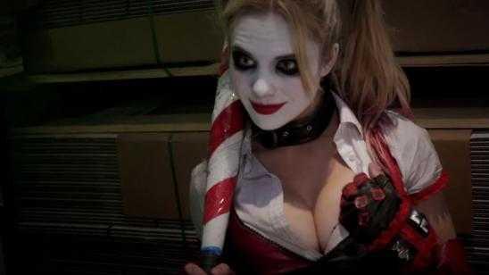Joker & Harley Quinn Vs. Deadpool & Domino in SUPER POWER BEATDOWN
