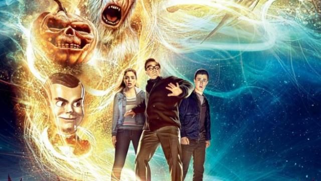 New GOOSEBUMPS Movie Poster - The Stories are Alive Tagline