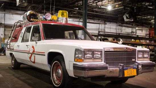 First Look Photos at Ecto 1 & Melissa McCarthy in Ghostbusters Reboot