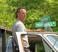 First Andrew Lincoln as Rick Grimes Photo from The Walking Dead Season 6