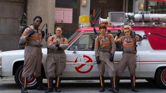 Official Ghostbusters Cast Photo from Paul Feig