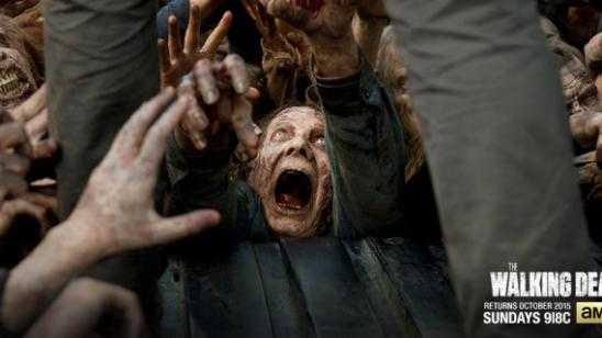 Hungry Zombies Featured in New The Walking Dead Season 6 Artwork