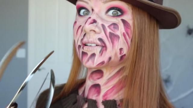 [Must See] Freddy Krueger Makeup Tutorial / Halloween Makeup Tutorial
