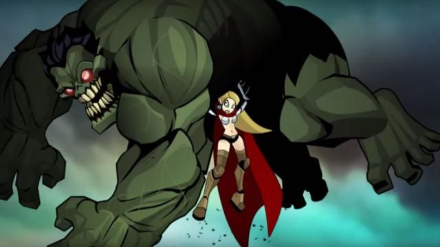 [Marvel Fan Film] She Thor VS Zombie Hulk