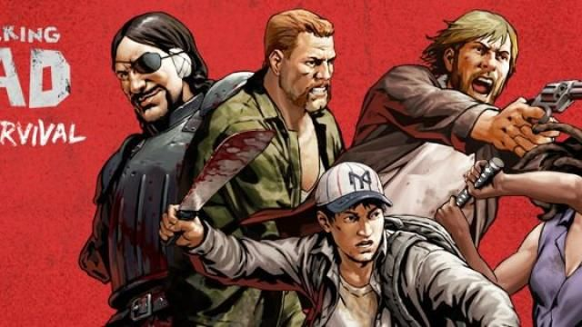 THE WALKING DEAD: ROAD TO SURVIVAL Mobile Game Available Now!