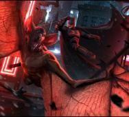 Spectacular Batman VS. Man-Bat Concept Art