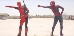 Spider-Man Vs. Deadpool Dance Battle
