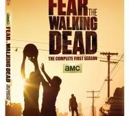 FEAR THE WALKING DEAD Season 1 Blu-ray / DVD Release Details & Cover Art