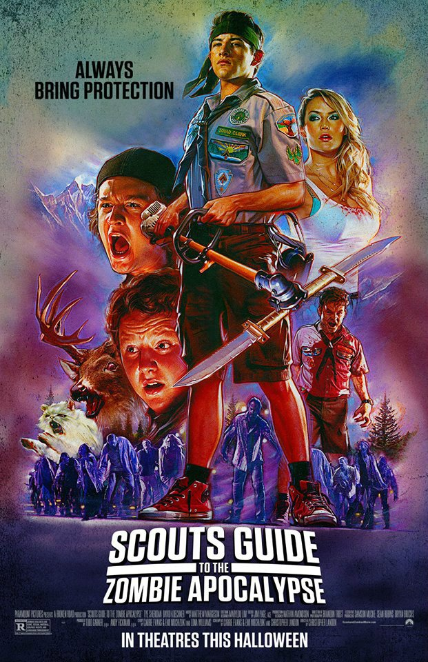 scouts guide   zombie apocalypse  clip  poster 621 x 960 · jpeg