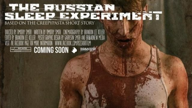 New Trailer / Poster for THE RUSSIAN SLEEP EXPERIMENT Short Film [Video]