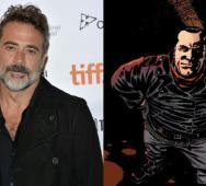 Jeffrey Dean Morgan is Villain Negan in The Walking Dead