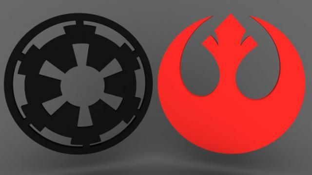 STAR WARS Rebel Alliance Logo Mistaken for Terrorist Symbol on News