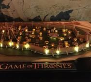 HBO's Game of Thrones King's Landing Recreated in Gingerbread