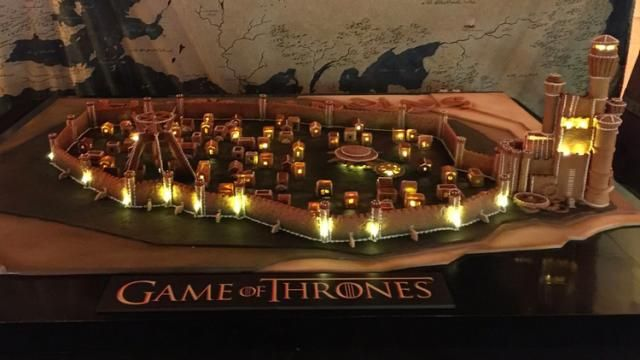 HBOs Game of Thrones Kings Landing Recreated in Gingerbread