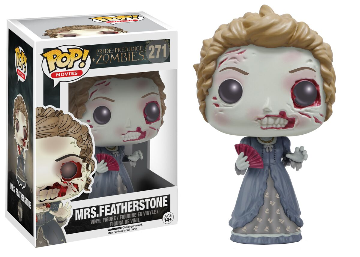 Funko S Pride And Prejudice And Zombies Pop Vinyls