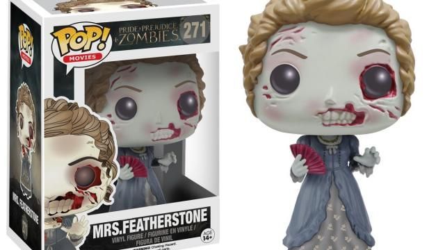 Funkos PRIDE AND PREJUDICE AND ZOMBIES Pop! Vinyls Revealed