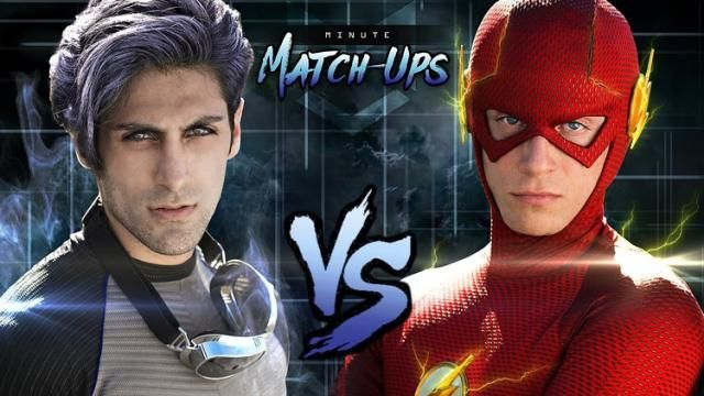 DC COMICs THE FLASH vs MARVELs QUICKSILVER Fan Film [Video]