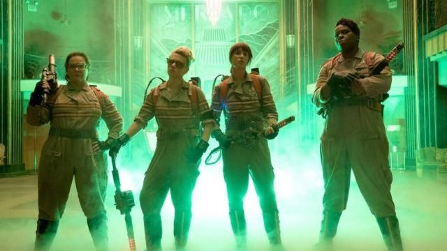 First Official Cast Image of the New GHOSTBUSTERS