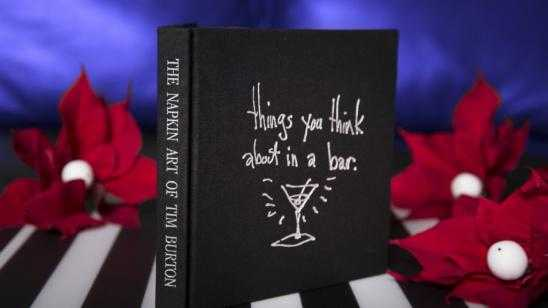 THE NAPKIN ART OF TIM BURTON - Release Details and Preview