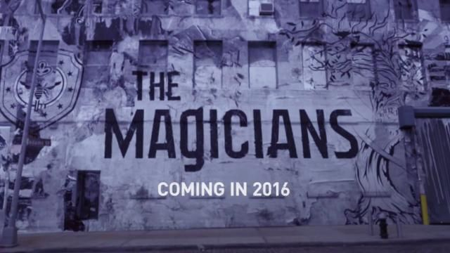 Syfys THE MAGICIANS Season 1 - Release Date Details / Photos