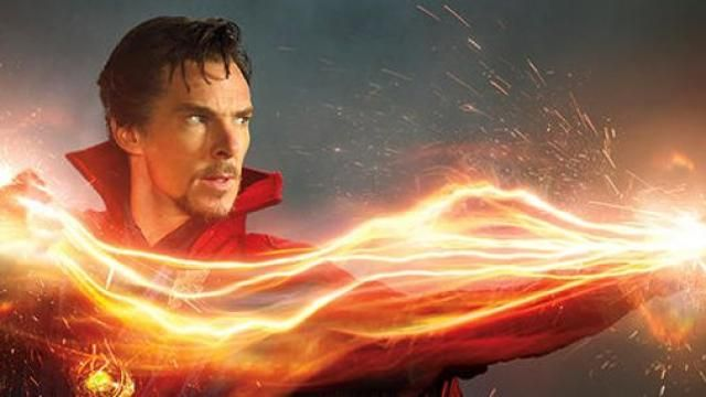 Marvels DOCTOR STRANGE Photo Gallery Featuring Benedict Cumberbatch